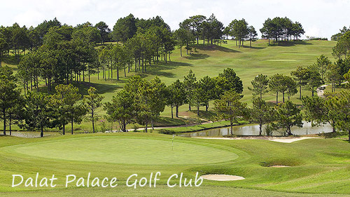 Dalat Palace Golf Club tour (RTG004)