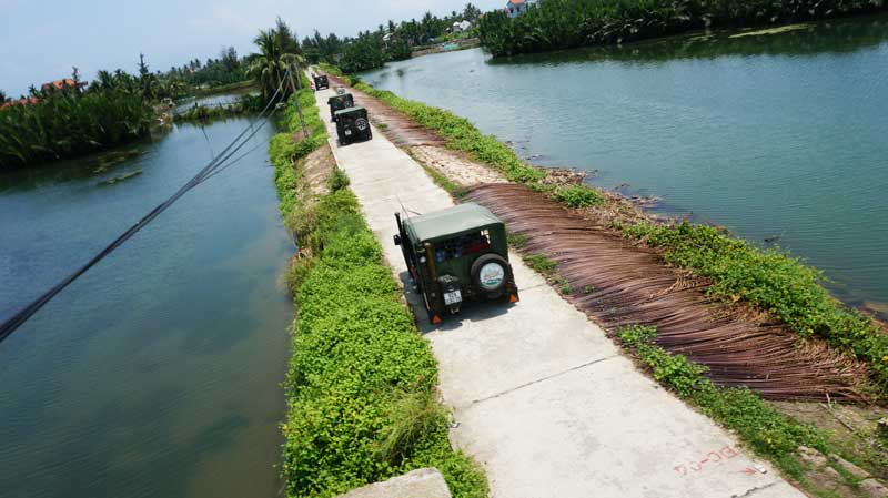 Discover Tra Que Vegetable AND Hoi An Countryside By Jeep (Full Day - RT034)