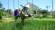 Hoi-An-cooking-class-Vespa-tour-watering-in-local-garden