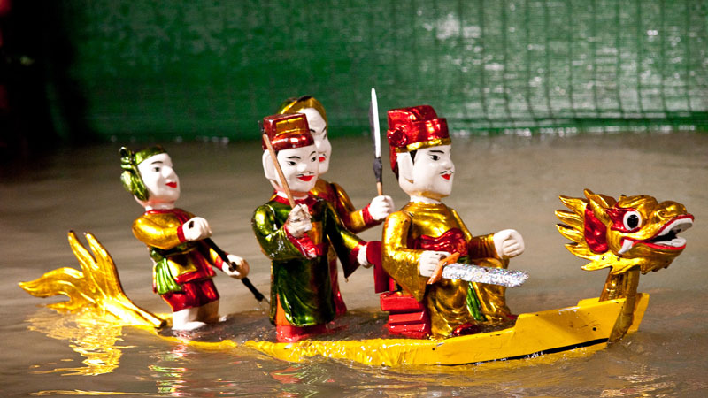 Saigon By Night – Water Puppet Show (Half Day; RT-PRT013)