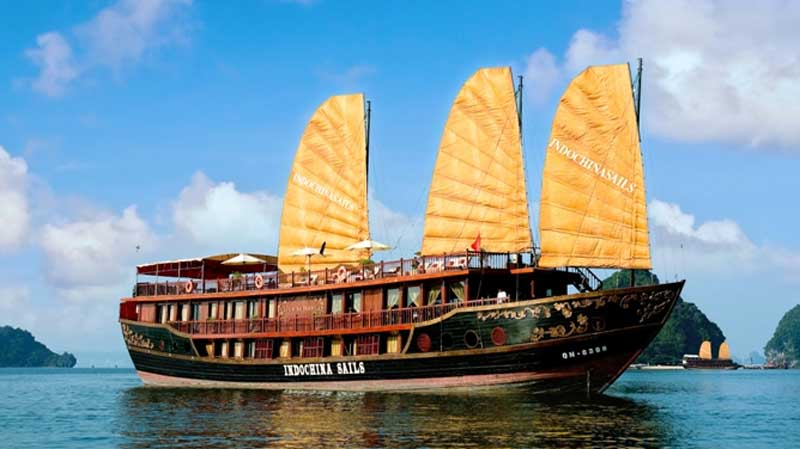 Halong Bay Overnight Tour on Indochina Sails Junk - 4* (2D/1N - RT304)