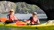 2.4 Halong Bay kayaking