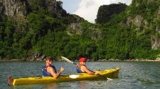 2.2 Halong Bay kayaking