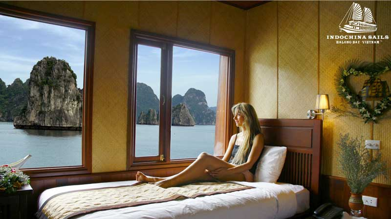 Halong Bay Cruise on Indochina Sails Junk - 4* (3D/2N - RT315)