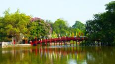 The-Huc-Bridge---Vietnam